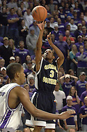 Georgia Southern forward Courtnei Houston (3) puts up a shot against Kansas State, during the first half of the Wildcats 83-58 win over the Eagles at Bramlage Coliseum in Manhattan, Kansas, November 19, 2005.