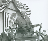 3/17/1925 William Mulholland speaks at the dedication of the Lake Hollywood and Dam