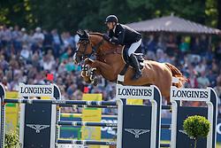 Cox Karel, BEL, Dublin van Overis Z<br /> Deutsches Spring- und Dressur Derby Hamburg 2018<br /> Longines Global Champions Tour<br /> Grand Prix of Hamburg<br /> © Dirk Caremans<br /> 12/05/2018