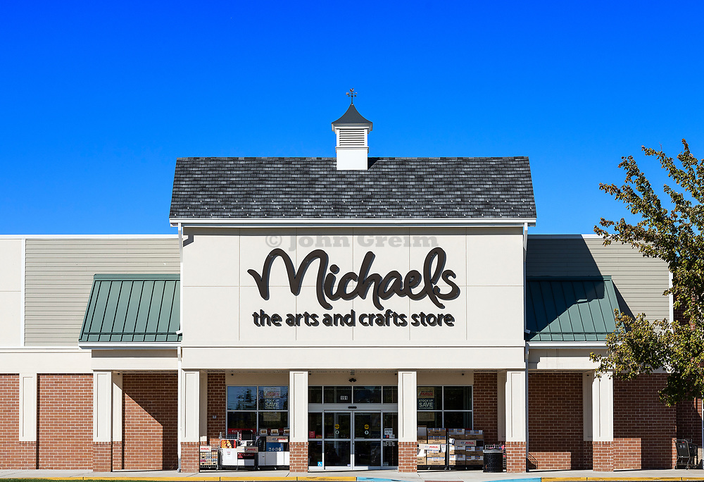 Michaels Arts and Crafts store exterior, Mt. Laural, New Jersey, USA