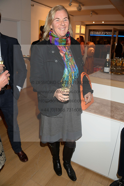 COUNTESS DORA DELLA GHERARDESCA at a reception to launch Prestat's special edition of their award-winning chocolate bars to raise money for the charity Walking with the Wounded held at Sladmore Gallery, Bruton Place, London on 10th October 2013.