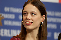 Actress Paula Beer at the press conference for the film Undine at the 70th Berlinale International Film Festival, on Sunday 23rd February 2020, Hotel Grand Hyatt, Berlin, Germany. Photo credit: Doreen Kennedy