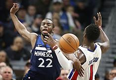 Detroit Pistons vs. Minnesota Timberwolves - 19 Nov 2017