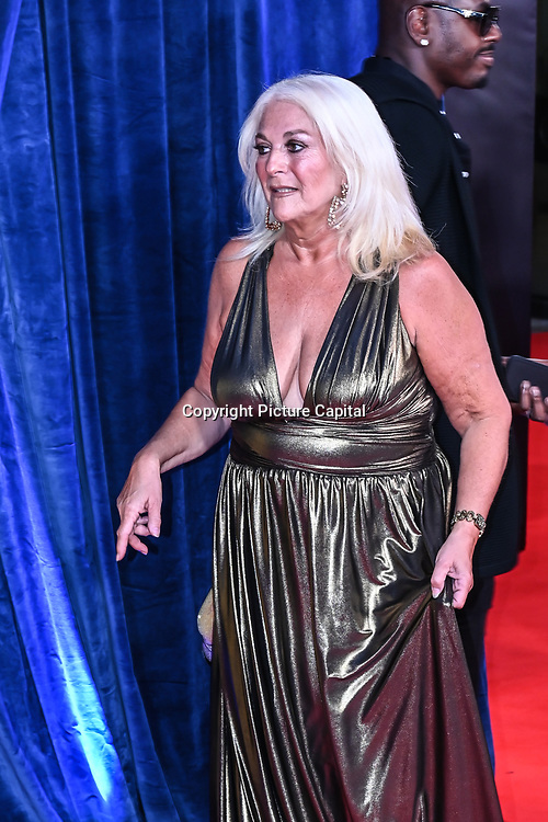 """Vanessa Feltz attended """"The Harder They Fall"""" Opening Night Gala - 65th BFI London Film Festival, Southbank Centre, London, UK. 6 October 2021."""