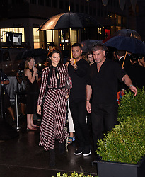 Longchamp Fifth Avenue Opening Longchamp Fifth Avenue Store, NY. 03 May 2018 Pictured: Kendall Jenner. Photo credit: RCF / MEGA TheMegaAgency.com +1 888 505 6342