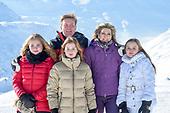 Fotosessie met de koninklijke familie in Lech 2018