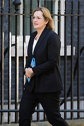 Downing Street, London, April 25th 2017. Home Secretary Amber Rudd attends the weekly cabinet meeting at 10 Downing Street in London. Credit: ©Paul Davey