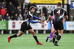 Bedwas's Steffan Jones in action during todays match - Mandatory by-line: Craig Thomas/Replay images - 30/12/2017 - RUGBY - Sardis Road - Pontypridd, Wales - Pontypridd v Bedwas - Principality Premiership