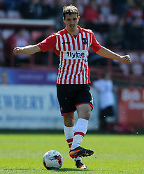 Exeter City's Craig Woodman - Photo mandatory by-line: Harry Trump/JMP - Mobile: 07966 386802 - 06/04/15 - SPORT - FOOTBALL - Sky Bet League Two - Exeter City v Newport County - St James Park, Exeter, England.