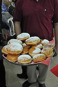 Sufganiyah a traditional Jewish Doughnut eaten during Channukah