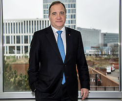 March 22, 2019 - Haag, Netherlands - Swedish prime minister Stefan Lofven visists Europol in Haag, Netherlands (Credit Image: © Fernvall Lotte/Aftonbladet/IBL via ZUMA Wire)