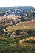 Minerve village Minervois. Languedoc. Vineyards. France. Europe.