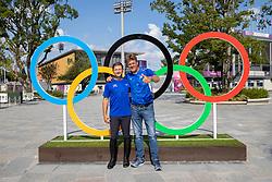 Team Israel, Michan Alberto, Dubbeldam Jeroen<br /> Olympic Games Tokyo 2021<br /> © Hippo Foto - Stefan Lafrentz<br /> 31/07/2021