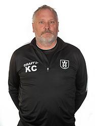 Holdleder Kasper Christiansen ved FC Helsingør's officielle fotosession den 15. oktober 2020 på Helsingør Stadion. Foto: Claus Birch.
