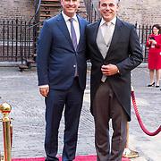 NLD/Den Haag/20180918 - Prinsjesdag 2018, Mark Harbers en partner