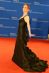 April 28, 2018 - Washington Dc, United States - KATHY GRIFFIN on the red carpet at the 2018 White House Correspondent's Dinner at the Washington Hilton. (Credit Image: © Christopher Levy via ZUMA Wire)