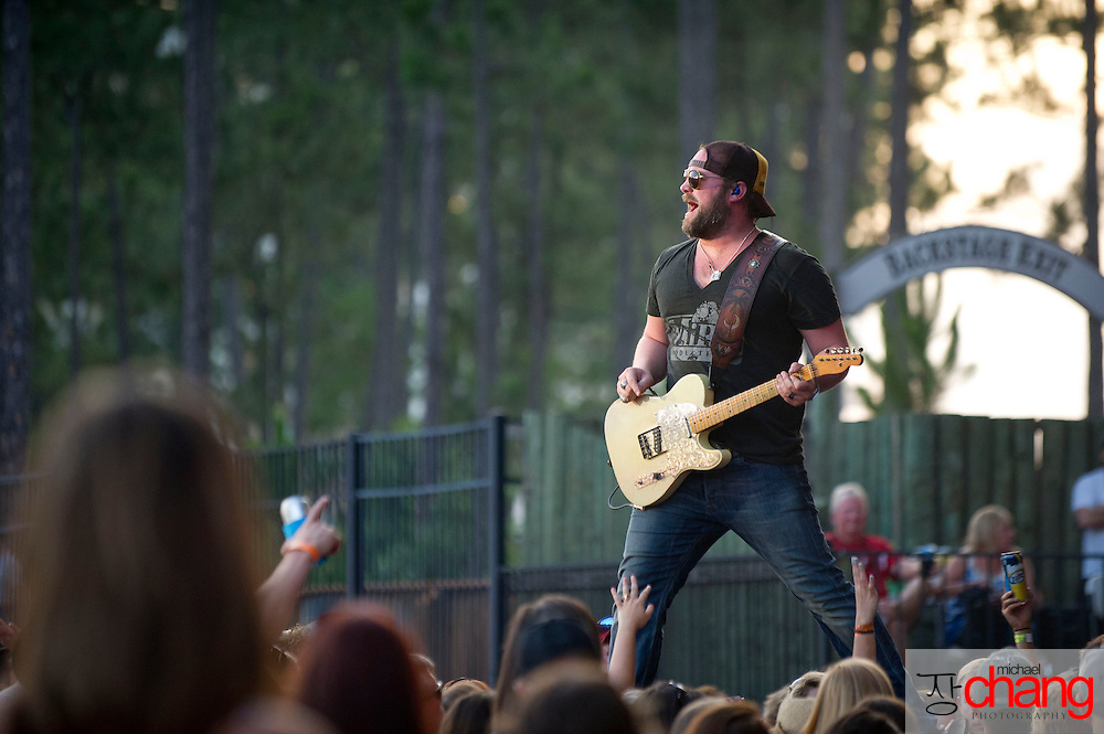 ORANGE BEACH, AL - JUNE 15: Lee Brice performs at The Amphitheater at the Wharf on June 15, 2013 in Orange Beach, Alabama. (Photo by Michael Chang/Getty Images)