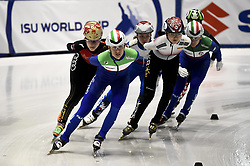 February 8, 2019 - Torino, Italia - Foto LaPresse/Nicolò Campo .8/02/2019 Torino (Italia) .Sport.ISU World Cup Short Track Torino - 1500 meter Ladies Quater Finals.Nella foto: Cynthia Mascitto..Photo LaPresse/Nicolò Campo .February 8, 2019 Turin (Italy) .Sport.ISU World Cup Short Track Turin - 1500 meter Ladies Quater Finals.In the picture: Cynthia Mascitto (Credit Image: © Nicolò Campo/Lapresse via ZUMA Press)