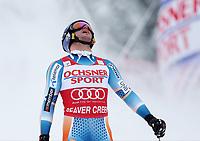 Alpint<br /> FIS World Cup<br /> Beaver Creek USA<br /> 07.12.2013<br /> Foto: Gepa/Digitalsport<br /> NORWAY ONLY<br /> <br /> FIS Weltcup, Super G der Herren. Bild zeigt die Enttaeuschung von Aksel Lund Svindal (NOR).