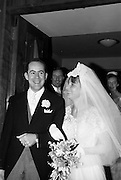 21/04/1964<br /> 04/21/1964<br /> 21 April 1964<br /> Wedding of O'Sullivan - Sturtze at Raheny, Dublin.<br /> Conal O'Sullivan, only son of Mr and Mrs Toddie O'Sullivan, Gresham Hotel Dublin and Miss Vera Sturtze, daughter of Herr and Frau Herman Sturtze of Hamburg and Howth after their marriage at the Church of Our Lady of Divine Grace, Raheny, Co. Dublin.