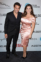 Kelly Brook and  Jeremy Parisi attends the 2016 Attitude Awards in association with Virgin Holidays, at 8 Northumberland Avenue, London. Monday October 10, 2016. Photo credit should read: Isabel Infantes / EMPICS Entertainment.