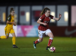 Lauren Hemp of Bristol City Women - Mandatory by-line: Paul Knight/JMP - 02/12/2017 - FOOTBALL - Stoke Gifford Stadium - Bristol, England - Bristol City Women v Brighton and Hove Albion Ladies - Continental Cup Group 2 South