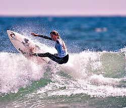HUNTINGTON BEACH, California/USA (Sunday, Aug 1, 2010) - Alana Blanchard at the US Open of Surfing 2010 Junior Pro quarterfinals Heat 1.