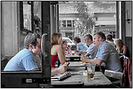 SERIES - DAY-TRIPPER by Paul Williams - Day Tripper - London Camden Pub is a selective colour street photography series by photographer Paul Williams  of people enjoying a drink in a Camden pub, London taken in 2008 . .<br /> <br /> Visit our REPORTAGE & STREET PEOPLE PHOTO ART PRINT COLLECTIONS for more wall art photos to browse https://funkystock.photoshelter.com/gallery-collection/People-Photo-art-Prints-by-Photographer-Paul-Williams/C0000g1LA1LacMD8