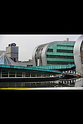 Nederland, Nijmegen, 24-3-2010Het Goudsmit paviljoen, waar de nmr faciliteit ondergebracht is, het  gebouw van de faculteit wiskunde, natuurkunde en informatica, het Huygensgebouw, en het erasmusgebouw van de letterenfaculteit van de Radboud universiteit, ru, voorheen KUNFoto: Flip Franssen/Hollandse Hoogte