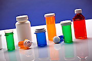 Colorful Prescription Bottles