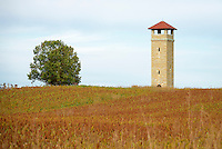 Antietam National Battlefield observation tower, Sharpsburg, Maryland, USA