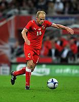 Photo: Tony Oudot/Richard Lane Photography.  England v Czech Republic. International match. 20/08/2008. <br /> David Jarolim of Czech Republic .