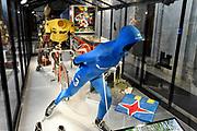 Perspreview 50 jaar Koninklijk Paleis Amsterdam.<br /> <br /> Op de foto: Evert van Benthem's schaatspak, waarin hij in de Elfstedentocht won