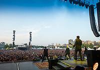 OTTAWA - JULY 12: The Offspring perform live at Bluesfest in Ottawa, ON. Canada on July 12, 2019.<br /> <br /> Photo: Steve Kingsman  (www.stevekingsman.com)