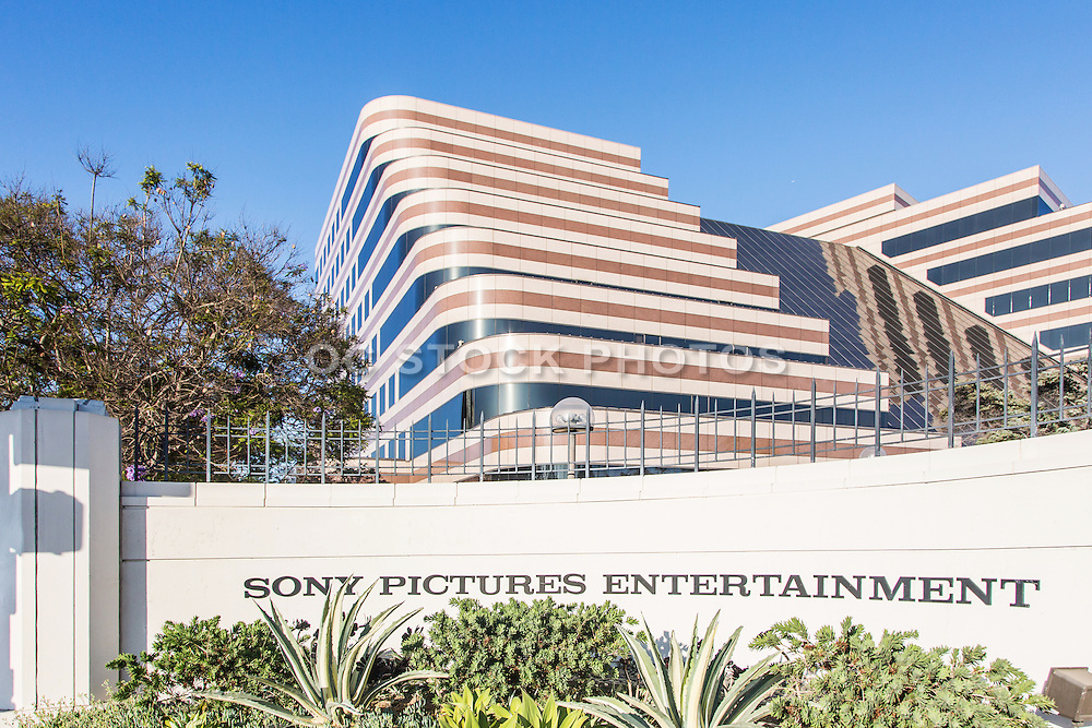Sony Pictures Plaza Building in Culver City