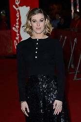 Honor Swinton-Byrne attending The Souvenir Premiere as part of the 69th Berlin International Film Festival (Berlinale) in Berlin, Germany on February 12, 2019. Photo by Aurore Marechal/ABACAPRESS.COM