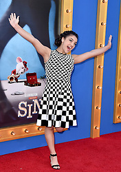 Laurie Hernandez attends the premiere of Universal Pictures' 'Sing' on December 3, 2016 in Los Angeles, California. Photo by Lionel Hahn/AbacaUsa.com