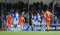 CELE - Bristol Rovers' Billy Bodin celebrates scoring his side's first goal <br /> <br /> Photographer Ashley Crowden/CameraSport<br /> <br /> The EFL Sky Bet League One - Bristol Rovers v Blackpool - Saturday 23rd September 2017 - Memorial Stadium - Bristol<br /> <br /> World Copyright © 2017 CameraSport. All rights reserved. 43 Linden Ave. Countesthorpe. Leicester. England. LE8 5PG - Tel: +44 (0) 116 277 4147 - admin@camerasport.com - www.camerasport.com