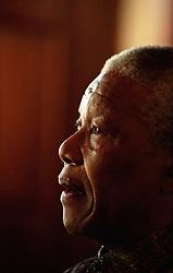 Nelson Mandela. Photo Greg Marinovich.