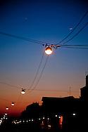 Milan, Naviglio Grande at sunset