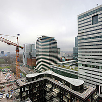 Nederland, Amsterdam , 4 december 2009.. De Zuidas Amsterdam. Het zakelijk centrum van Amsterdam..Foto:Jean-Pierre Jans