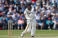 Steven Patterson of Yorkshire batting during the Specsavers County Champ Div 1 match between Yorkshire County Cricket Club and Warwickshire County Cricket Club at York Cricket Club, York, United Kingdom on 18 June 2019.