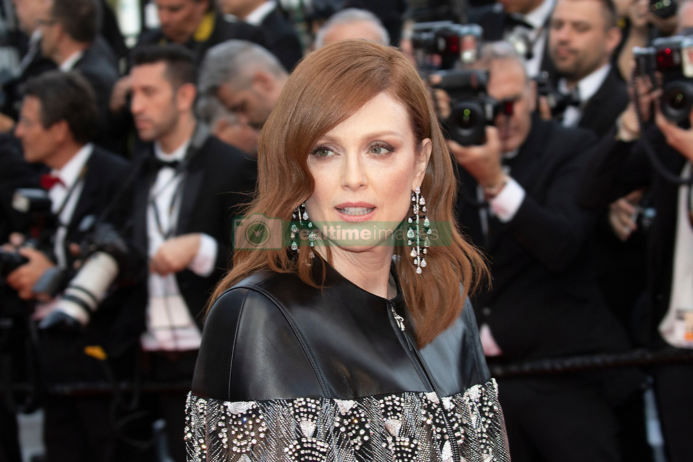 'Les Miserables' during the 72nd Cannes Film Festival at Palais des Festivals in Cannes, France, on 15 May 2019. 15 May 2019 Pictured: Julianne Moore attends the premiere of 'Les Miserables' during the 72nd Cannes Film Festival at Palais des Festivals in Cannes, France, on 15 May 2019. Photo: Vinnie Levine. Photo credit: Vinnie Levine / MEGA TheMegaAgency.com +1 888 505 6342