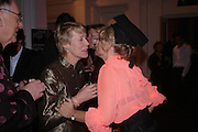 Peter and Virginia Bottomley,  Alison Myners, ( Mrs. Paul Myners) Skools Rool, fundraising event  for the Royal Academy Schools.  Burlington St. London. 14 March 2005. ONE TIME USE ONLY - DO NOT ARCHIVE  © Copyright Photograph by Dafydd Jones 66 Stockwell Park Rd. London SW9 0DA Tel 020 7733 0108 www.dafjones.com