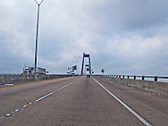 The Luling Bridge (also known as the Hale Boggs Memorial Bridge) is a cable-stayed bridge over the Mississippi River in St. Charles Parish, Louisiana.