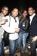 l to r: Eddie Blackmon, Devo Springsteen, Estelle and Ryan Leslie at John Legend Presents Vaughn Anthony at SOB's, the second artis off his label ' HomeSchool Records'  in New York City on May 14, 2009