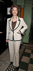 MAUREEN LIPMAN at the 2009 Oldie of The Year Award lunch held at Simpson's in The Strand, London on 24th February 2009.