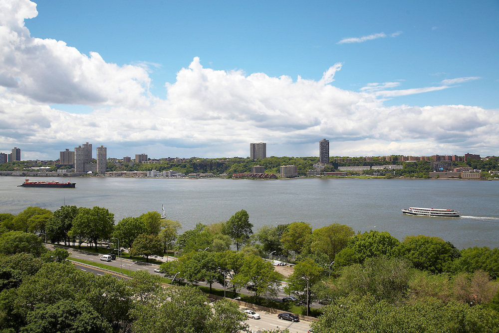 View of the Hudson River from 230 Riverside Drive, 14th floor