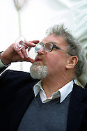 Scottish author Alasdair Gray pictured at the Edinburgh International Book Festival where he gave a talk about his work.