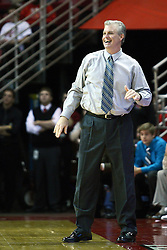 03 December 2011:  Buzz Peterson during an NCAA mens basketball game where the University of North Carolina at Wilmington Seahawks defeated the Illinois State Redbirds 63-54 inside Redbird Arena, Normal IL